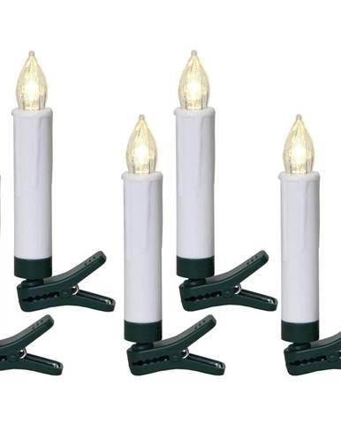 Súprava 5 LED sviečok Best Season Shaft, výška 13,5 cm