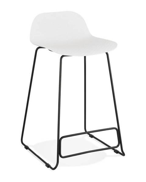 Kokoon Biela barová stolička Kokoon Slade, výška 85 cm