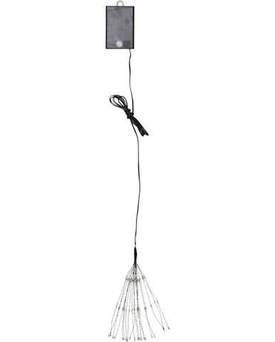 Závesná svietiaca LED dekorácia Best Season Hanging Firework Dark Warm, 60 svetielok