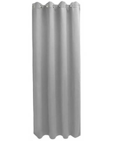 Záves Moire 546250, šedý%