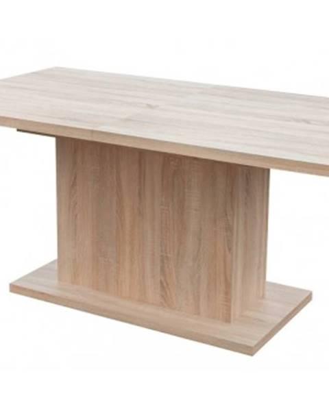 ASKO - NÁBYTOK Jedálenský stôl Paulo 160x90 cm, dub sonoma, rozkladací%