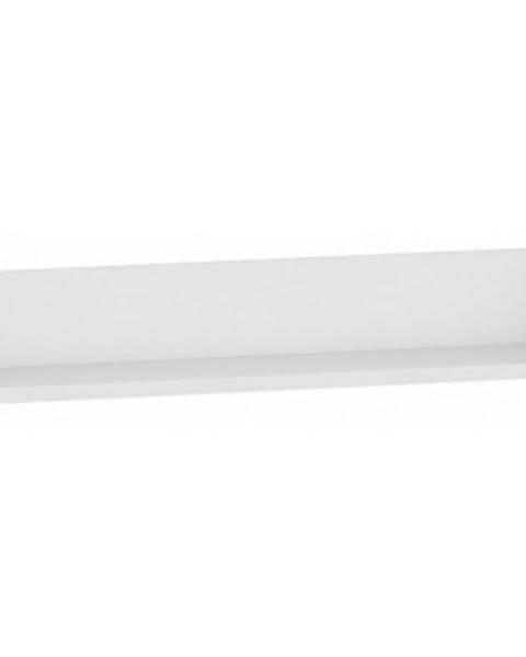 ASKO - NÁBYTOK Nástenná polica One MP90, biela, šírka 90 cm%
