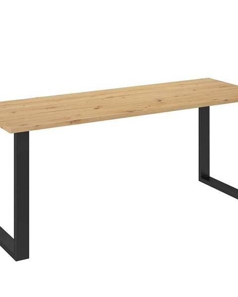 MERKURY MARKET Jedálenský stôl Imperial 185x67 dąb artisan