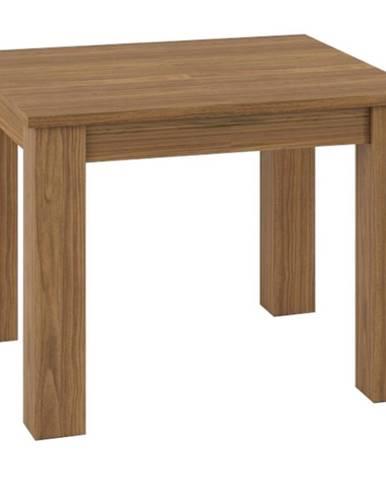 Stôl 101-181 Dallas 15 orech/biely lesk/orech