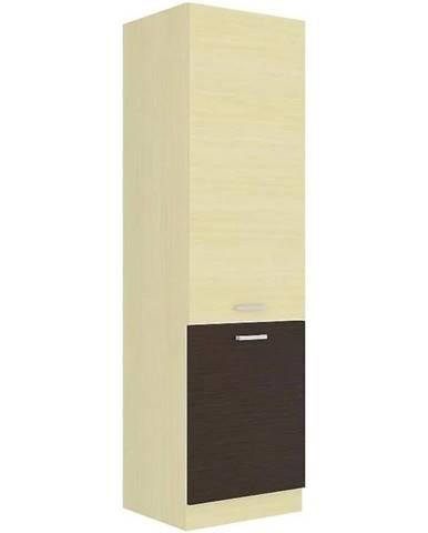 Skrinka do kuchyne Wiktoria chamonix/legno 60DK-210 2F