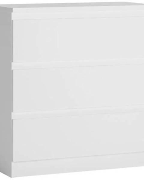 MERKURY MARKET Komoda Boston Bos K11 3S biely