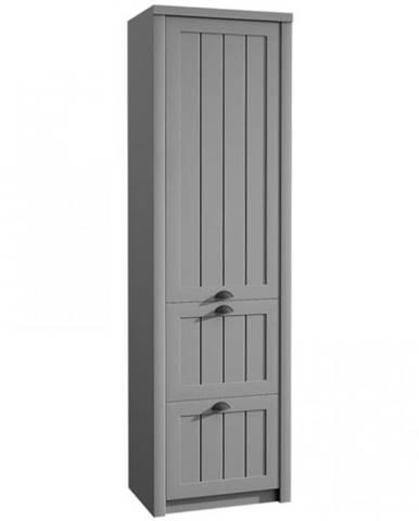 Skriňa Prowansja S1D2S grey