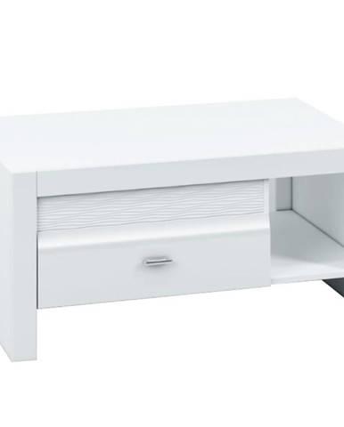 Konferenčný stolík 108 Arko biela lesklá