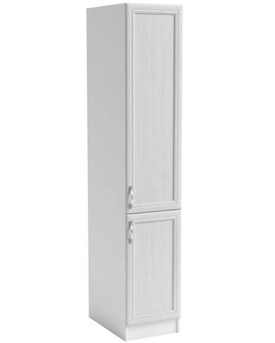 Skrinka do kuchyne Sycylia D40sp biela/dub lancelot