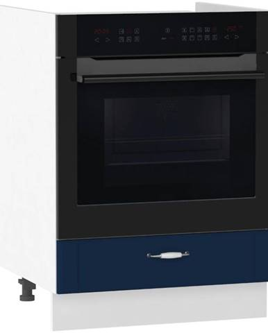 Kuchynská skrinka Moniuszko DK60 S/1  námornícka modrá mat BB