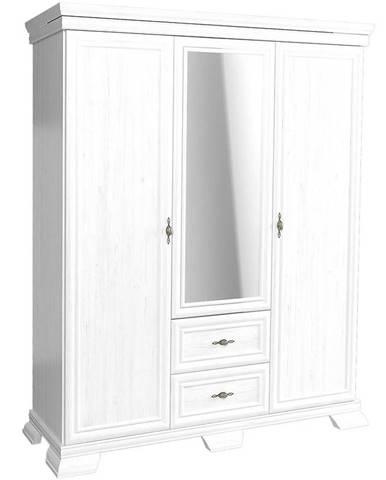 Skriňa Kora KS2 158 cm biela