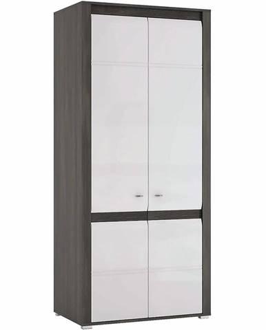 Skriňa Sevilla Typ 20 90 cm nórská borovica/ biela