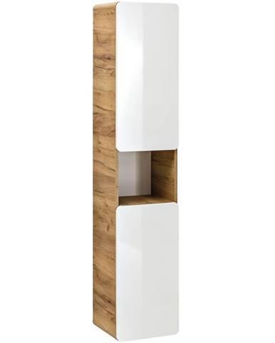 Vysoká skrinka do kúpeľne Aruba 2D0S
