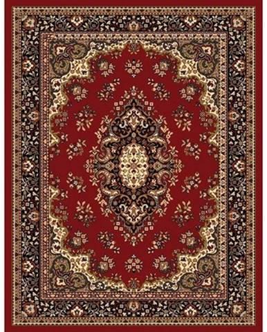 Spoltex Kusový koberec Samira 12001 red, 80 x 150 cm