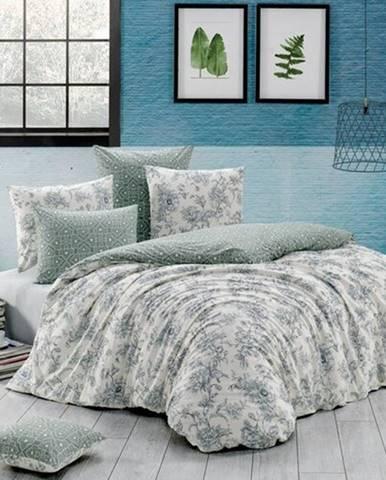 BedTex Bavlnené obliečky Estelita smotanová, 140 x 200 cm, 70 x 90 cm