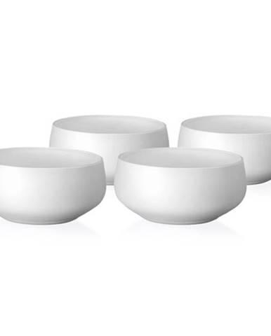Crystalex 4-dielna sada misiek Mini Bowls White, 95 ml
