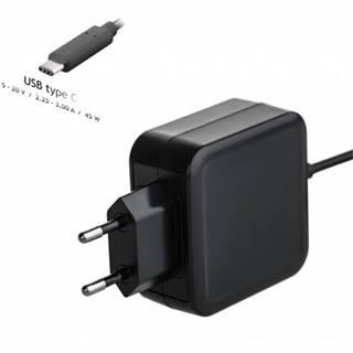Nabíjačka Akyga AK-ND-60, 45W, USB-C Power Delivery