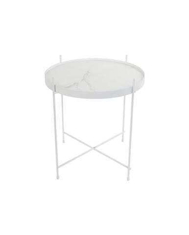 Biely odkladací stolík Zuiver Cupid