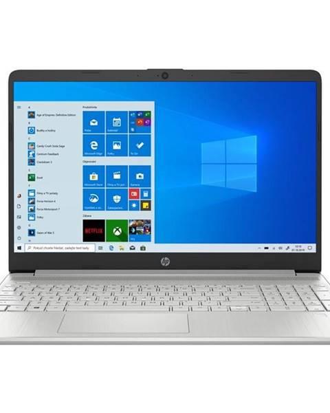 HP Notebook HP 15s-eq1617nc stříbrný + Microsoft 365 pro jednotlivce