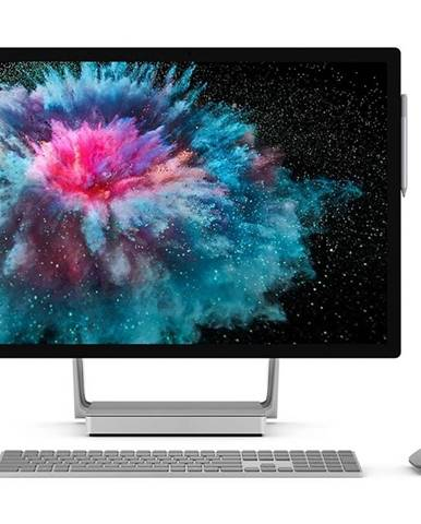PC all in-one Microsoft Surface Studio 2 strieborný