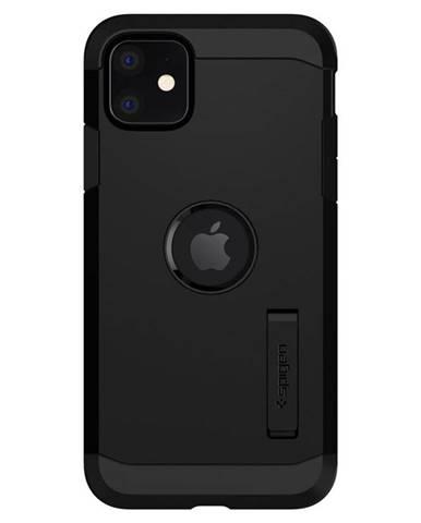 Kryt na mobil Spigen Tough Armor na Apple iPhone 11 čierny