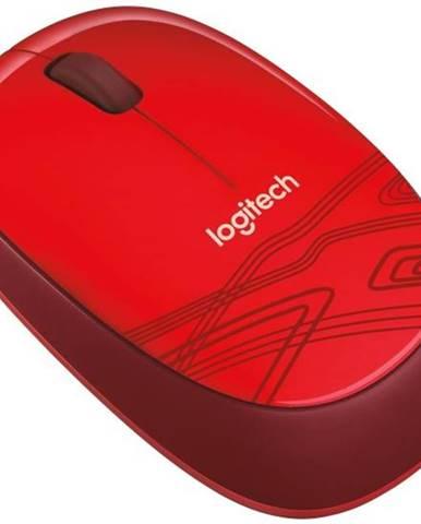 Myš  Logitech M105 červená / optická / 3 tlačítka / 1000dpi