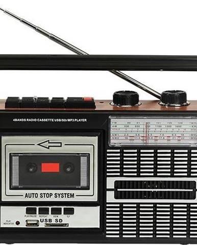 Rádiomagnetofón Ricatech PR85 čierny