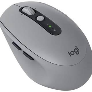 Myš  Logitech M590 Silent - mid gray  / optická / 7 tlačítek /