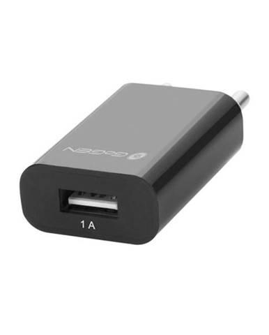 Nabíjačka do siete Gogen ACH 100, 1x USB, 1A čierna