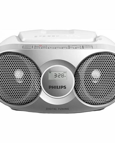 Rádioprijímač s CD Philips AZ215S strieborn