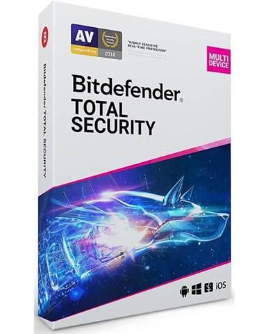 Software  Bitdefender Total Security 10 zařízení