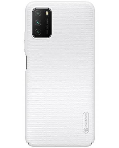 Kryt na mobil Nillkin Super Frosted na Xiaomi Poco M3 biely