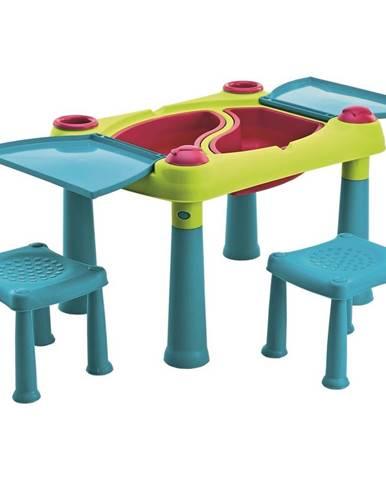 Keter Kreatívny hrací stôl s 2 stoličkami