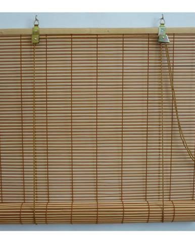 Gardinia Roleta bambusová prír./čerešňa, 80 x 160 cm