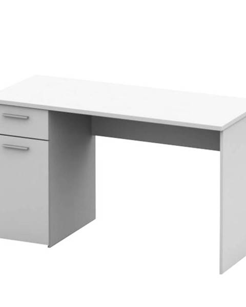 Tempo Kondela Písací stôl biela EGON