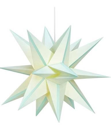 Zelená svietiaca hviezda Markslöjd Skilling, ø 50 cm