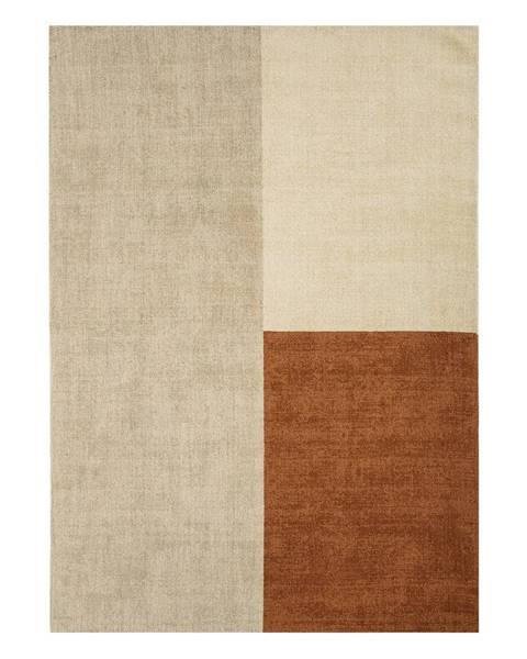 Asiatic Carpets Béžovo-hnedý koberec Asiatic Carpets Blox, 200 x 300 cm