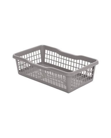 Aldo Plastový košík 24,8 x 14,7 x 7,2 cm, sivá