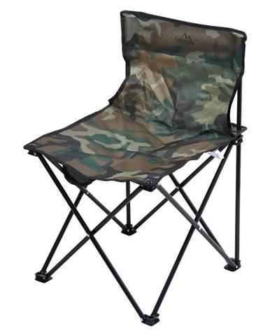 Cattara Kempingová skladacia stolička Lipari army, 45 x 45 x 70 cm