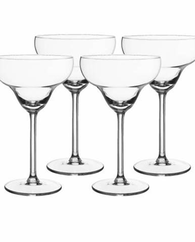 Royal Leerdam 4-dielna sada pohárov na koktail Margarita, 300 ml