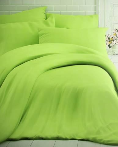 Kvalitex Bavlnené obliečky zelená