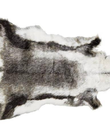 Umelá Kožušina Rudolf, 90/110cm, Sivá