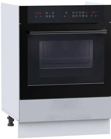 Kuchynská skrinka Natalia DK60 sivá mat