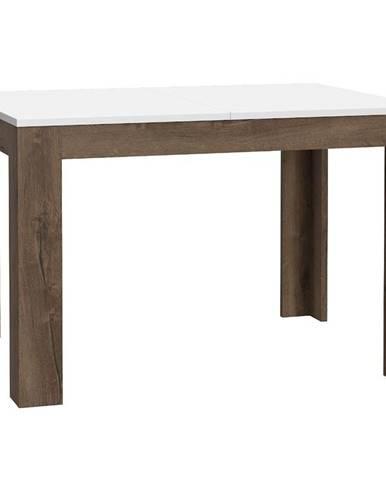Stôl White Sea 120 dub šľachtený/biely lesk