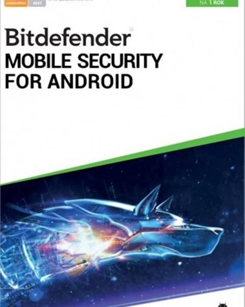 Ostatní OKAY Antivír Bitdefender pre telefóny a tablety s Android, ročné lic.