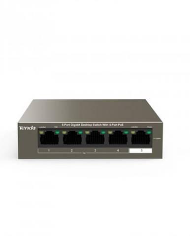 Switch Tenda TEG1105P-4-63W, GLAN, PoE, 63W, 5-port