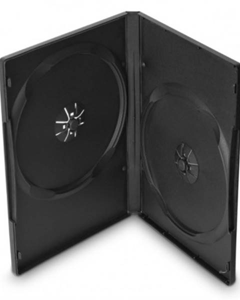 Cover IT Box na 2 DVD COVER IT, 10 ks/bal, čierny