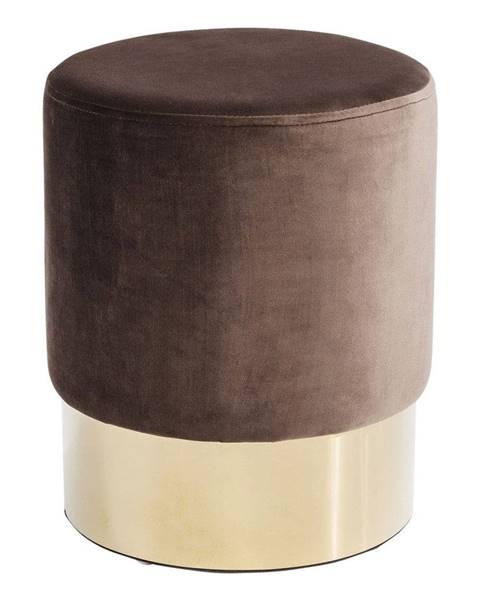 Kare Design Hnedá stolička Kare Design Cherry