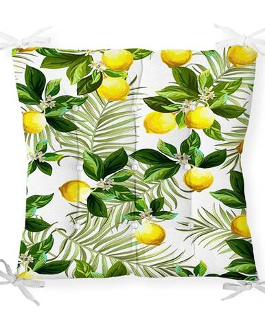 Sedák s prímesou bavlny Minimalist Cushion Covers Lemon Tree, 40 x 40 cm