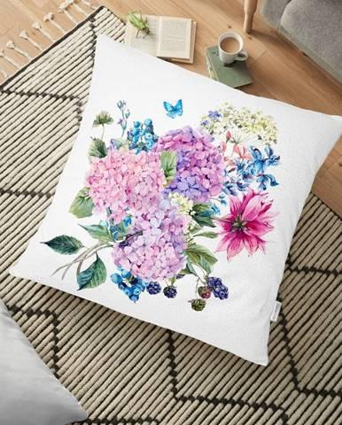Obliečka na vankúš s prímesou bavlny Minimalist Cushion Covers Bouquet, 70 x 70 cm
